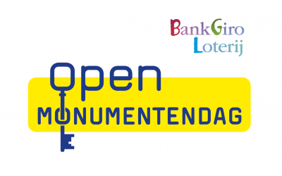 Open Monumentendag 15 september 2019